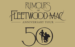 Rumours of Fleetwood Mac, the world's finest tribute to Fleetwood Mac, returns to the stage in 2019 with its 'Anniversary Tour', a brand new show celebrating 50 years of the very best of Fleetwood Mac, including a very special blues set paying tribute to Fleetwood Mac's legendary Peter Green era.Channeling the spirit of Fleetwood Mac at their very best, Rumours of Fleetwood Mac offers a unique opportunity for fans, both old and new, to rediscover the songs and performances that have ensured Fleetwood Mac's place as one of the most loved groups of all time. Personally endorsed by Fleetwood Mac founding member, Mick Fleetwood, Rumours of Fleetwood Mac is the ultimate tribute to one of rock and roll's most remarkable groups.Tickets £36 £26