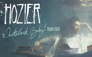 Hozier has announced details of his UK and European tour this year, which comes just ahead of the release of Hozier's new album Wasteland, Baby!, due for release on 1 March. Upon pre-ordering the album, there is special access granted to purchase pre-sale tickets to this tour, before they go on general sale on 22 February, via www.hozier.comWasteland, Baby! follows Hozier's recent Nina Cried Power EP. The EP, which features multi-Grammy Award-winning artist and performer Mavis Staples and instrumentation by renowned Grammy Life Time Achievement Award recipient, Booker T. Jones, has been streamed over 27 million times since its release in September last year. The title track of the EP also opens Wasteland, Baby! and has already proved incredibly successful for Hozier.Barack Obama included the song in his favourite songs of 2018 playlist and the track was the subject of the Song Exploder podcast's first episode of 2019. The latest single taken from the album, Almost (Sweet Music) has already had over 13 million global streams since its release.Hozier first rose to prominence following the release of his globally successful, triple platinum single Take Me To Church, the video for which has been viewed over 250 million times on YouTube. The track was nominated for 'Song Of The Year' at the 2015 Grammy Awards, won 'Song Of The Year' at the 2015 Ivor Novello Awards, won 'Song Of The Year' at the 2015 BBC Music Awards and won 'Top Rock Song' at the 2015 Billboard Music Awards, where Hozier also won 'Top Rock Artist'. Take Me To Church has sold 2.23 million copies in the UK to date. Hozier also saw great success with Someone New, which went gold and Cherry Wine and From Eden both being certified silver. Wasteland, Baby! is the follow up to Hozier's critically acclaimed self–titled debut album, which has now amassed over 2.1 billion streams on Spotify alone. The album has sold over 850 thousand copies in the UK, going platinum in the process, while the record has sold 4.4 million copies worldwide. Hozier's total, global streams now stand at 4.5 Billion, and he received a nomination for 'Best International Male' at the 2015 Brit Awards. Tickets £36.50 £31