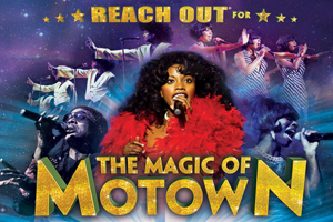 Music fans are invited to the biggest party of the year as the unstoppable Magic of Motown show steams into town!Seen by over a million people, it's no surprise that the show is one of the biggest success stories in British theatre history, even performing for Her Majesty the Queen, as special guests at the Royal Variety Performance.Prepare yourself for 40 back-to-back classic Motown hits, glittering costume changes, dazzling dance moves and outstanding musicianship in this explosive concert experience.Celebrate the sound of a generation as the timeless music of Marvin Gaye, Diana Ross, Stevie Wonder, The Temptations, The Supremes, The Four Tops, Martha Reeves, Jackson 5, Smokey Robinson and more, are sensationally recreated for you by an exceptionally talented cast and band.This breath-taking concert spectacular takes you on a musical journey through all your favourite songs, including, Ain't No Mountain, Signed Sealed Delivered, Grapevine, Get Ready, Dancing In The Streets, My Girl, Blame It On The Boogie, Uptight, Endless Love, My Cherie Amor, All Night Long, Heatwave and many, many more.This is a tribute show and is no way affiliated with any original artists/estates/management companies or similar shows. Please note strobe and smoke will be used during this performance. Tickets £30 £28Groups of 9+ get one ticket free
