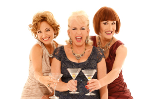 "They're back at last!Dillie Keane, Adèle Anderson and Liza Pulman are heading out on tour.With a selection of old favourites, songs you haven't heard before and some you wish you'd never heard in the first place. The songs are hilarious and topical - the glamour is unstoppable.With three Olivier Award nominations and over 25 million YouTube and Facebook hits for Cheap Flights and their incredibly rude Christmas song how can you possibly miss them? ""Cabaret Heaven."" ***** Metro ""Outrageous... seductive."" **** Guardian""I can't recommend this show highly enough."" ***** Mail on Sunday""Hilarious."" **** Telegraph""Engages the brain as well as the funny-bone."" ***** Times£26.50"