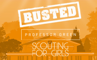 Busted, Professor Green and Scouting For Girls