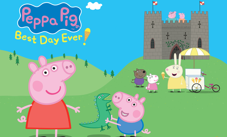 image of Peppa Pig's Best Day Ever