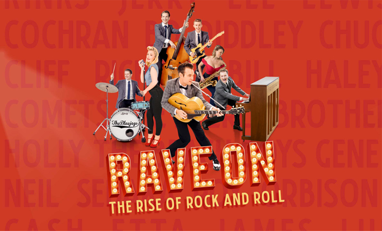 image of Rave On – The Rise of Rock and Roll