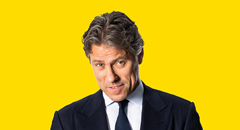 "Comedy superstar John Bishop is coming to De Montfort Hall with his highly anticipated brand-new stand up show – Right Here, Right Now.  This will be John's eighth stand up show and it is shaping up to be his best yet. It will see him performing across the UK, Ireland, America, Canada and Europe. He can't wait to be back on the road again!John has achieved huge success with a number of his own comedy, entertainment and documentary shows including, John Bishop's Australia (BBC1), John Bishop's Britain (BBC1), John Bishop's Only Joking (Sky1), The John Bishop Show (BBC1), The John Bishop Christmas Show (BBC1) and John Bishop's Gorilla Adventure (ITV1). More recently John Bishop's Ireland for ITV1 and four mammoth series of the critically acclaimed John Bishop: In Conversation With... which saw him chatting, one to one with some of the world's biggest, household names.  ""A gloriously gifted storyteller."" **** Daily Telegraph""Bishop has funny bones."" **** The Times""Two hours of observational humour delivered so skilfully it looks effortless."" Evening Standard ""John Bishop has taken on the mantle of Britain's top comic."" **** Daily Mirror"