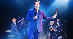 Featuring a sensational live band, A Night of Songs and Laughter tells Rob's personal musical journey from South Wales to the West End and beyond. With a hugely entertaining and brilliantly unexpected selection of songs, Rob will regale audiences with hilarious tales from his distant and recent past