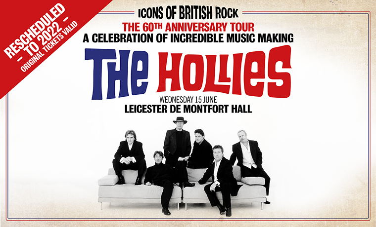 image of THE HOLLIES: THE 60TH ANNIVERSARY TOUR